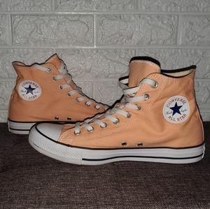 Peach Chuck Taylors